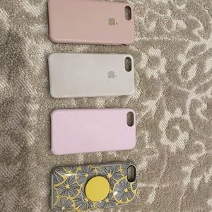 iPhone 6, 6S, 7, & 8 FOUR bundle COVERS
